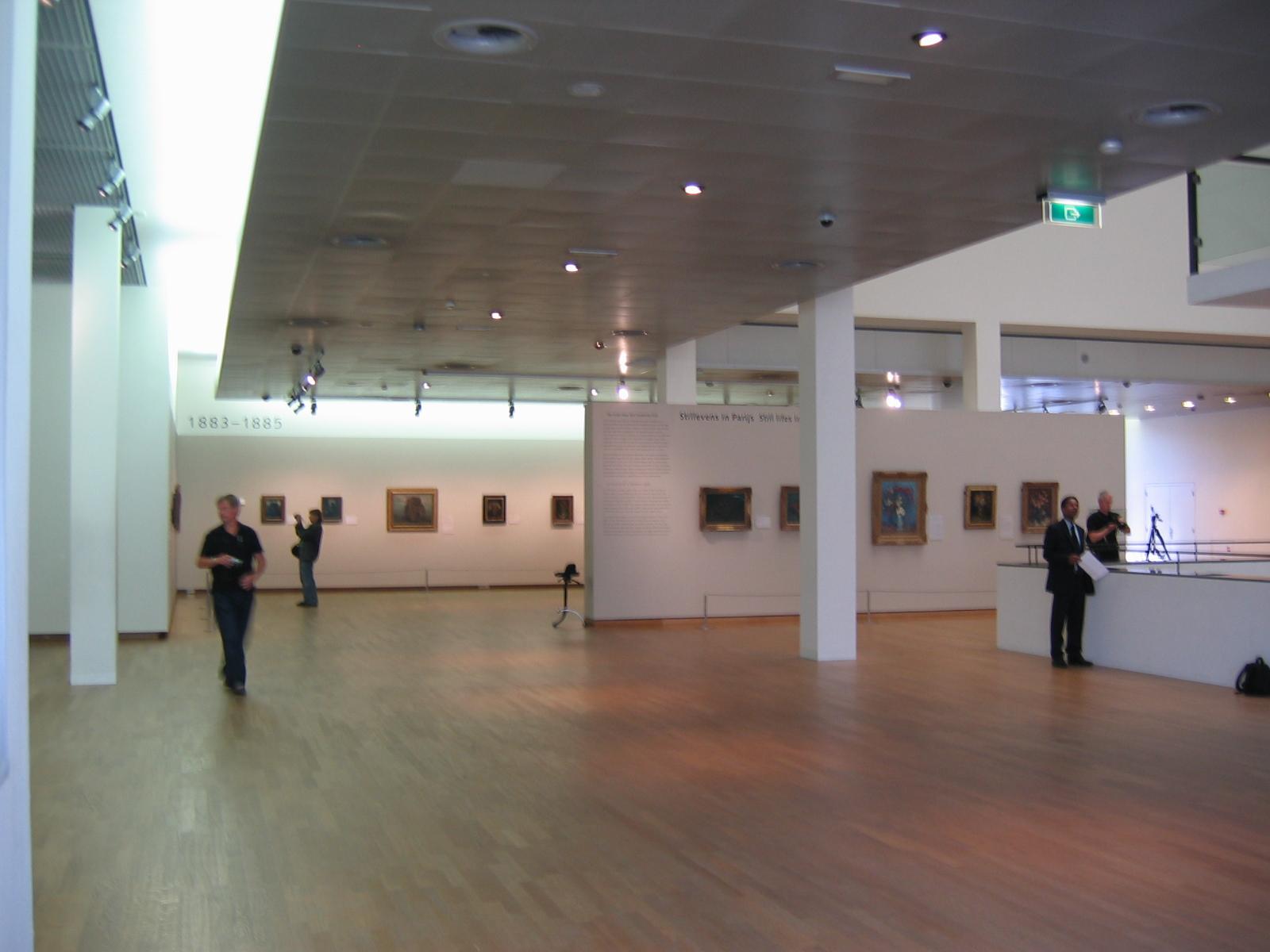 Interni van gogh museum amsterdam