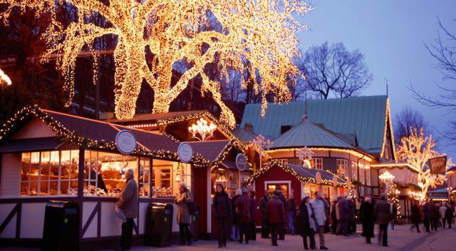 Goteborg: nella città svedese il Natale è vissuto in grande stile, tra luminarie e mercatini di ogni tipo