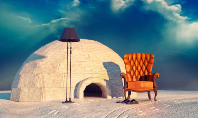 Vacanze sulla neve 2014: in Alto Adige si potrà dormire in un igloo