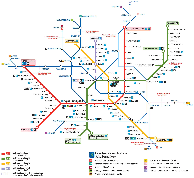 Cartina Milano Con Metro.Mappa Milano Tutte Le Mappe A Portata Di Mano Turista Fai Da Te