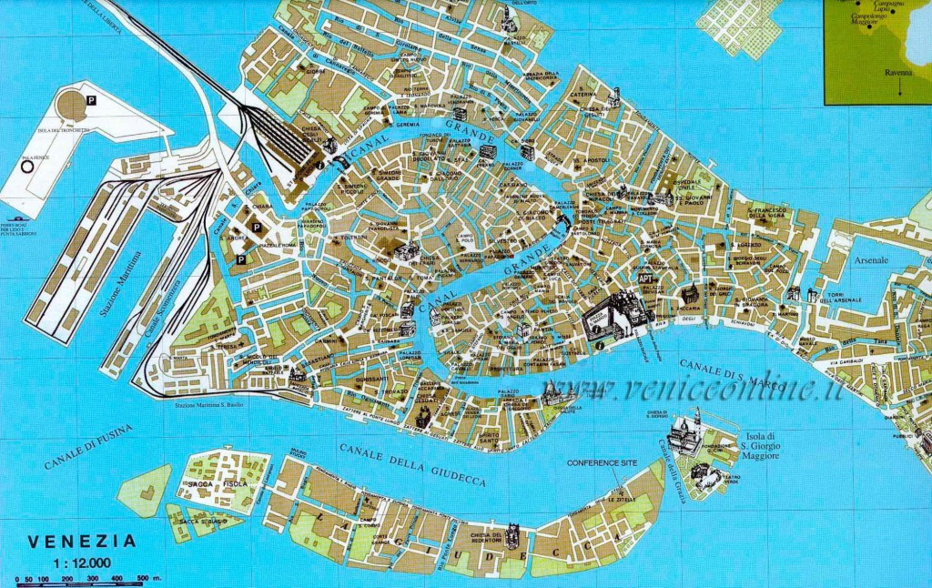 Cartina Di Venezia E Dintorni.Mappa Venezia Ecco Come Orientarsi Nella Citta Lagunare Turista Fai Da Te