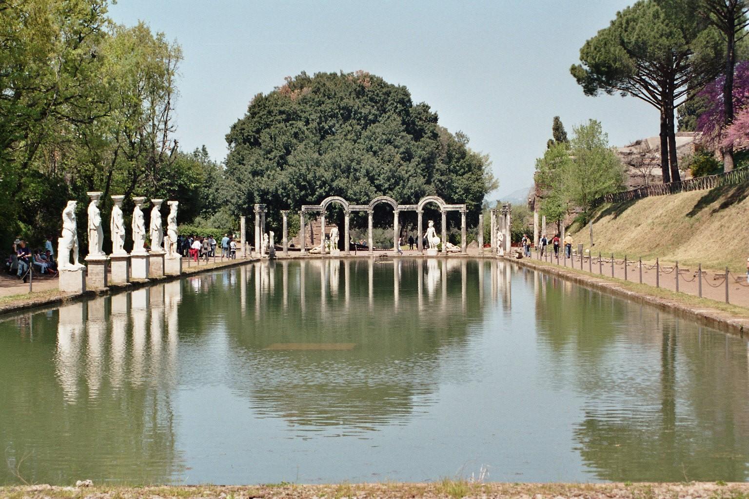 Villa Adriana Tivoli: patrimonio dell'umanità Unesco