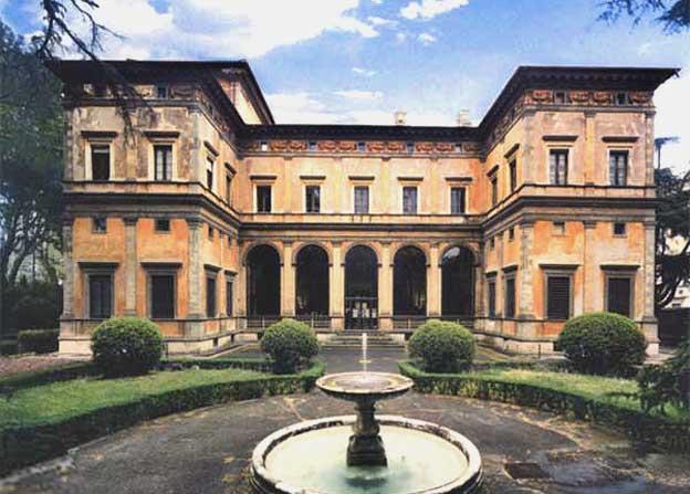 Villa Madama: tra le più imitate nel Rinascimento