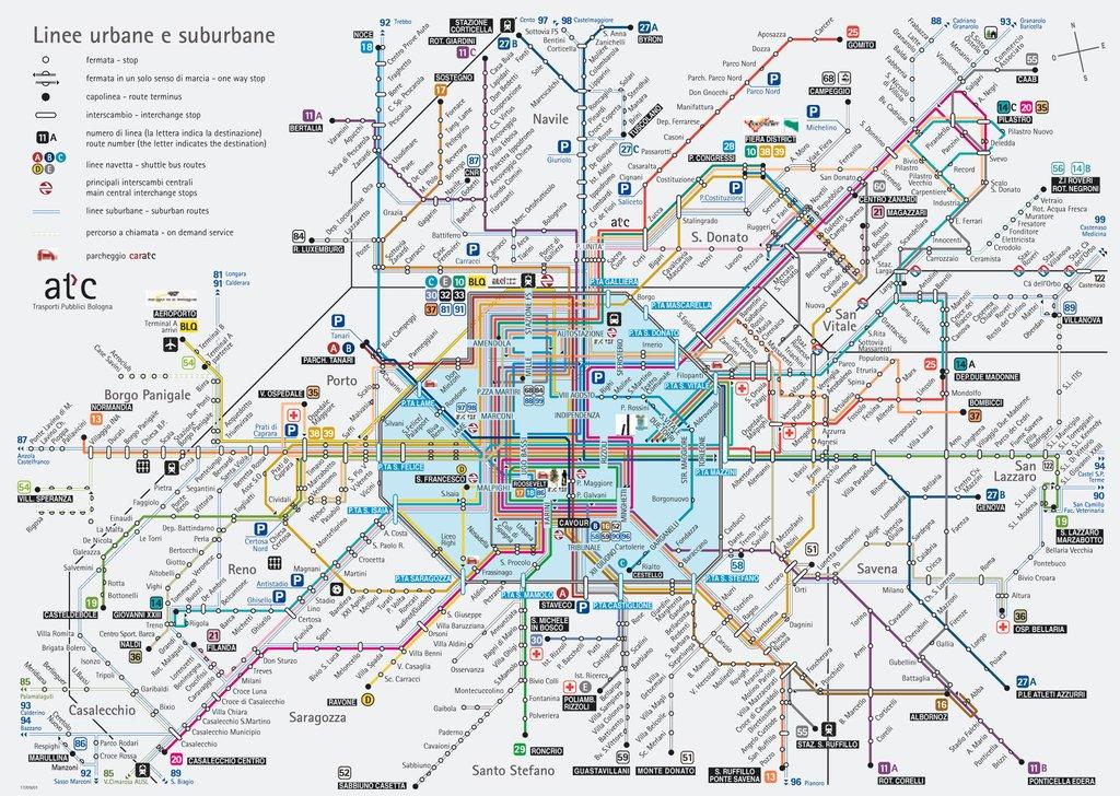 Bologna Cartina Quartieri.Mappa Bologna Tutto Cio Che Vi Serve A Portata Di Mano Turista Fai Da Te