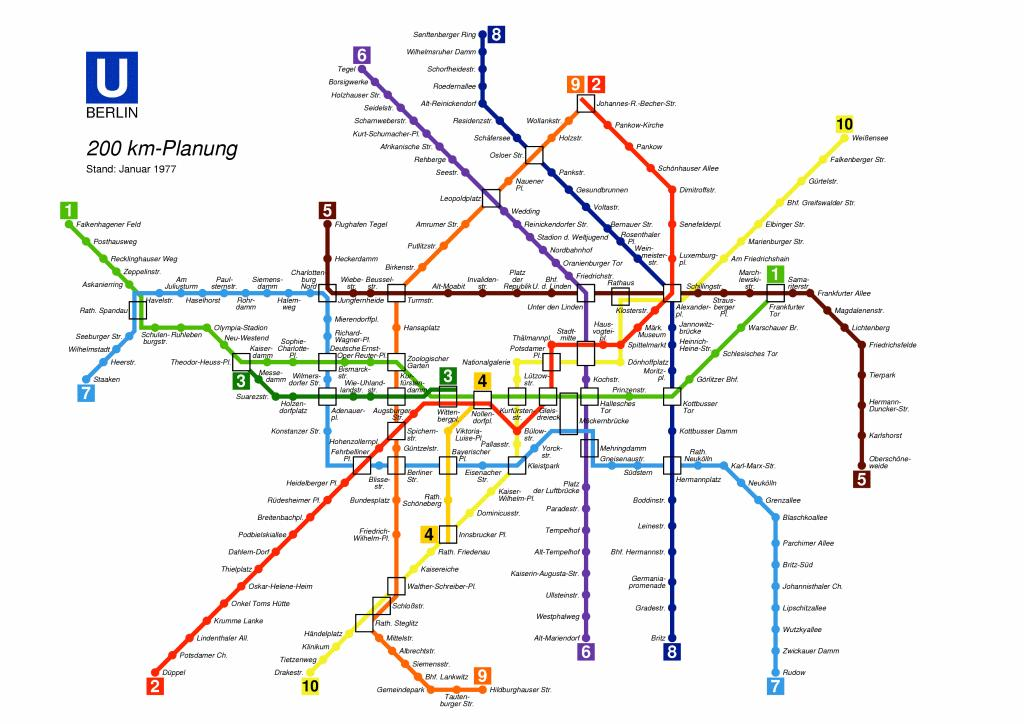 mappa metro berlino