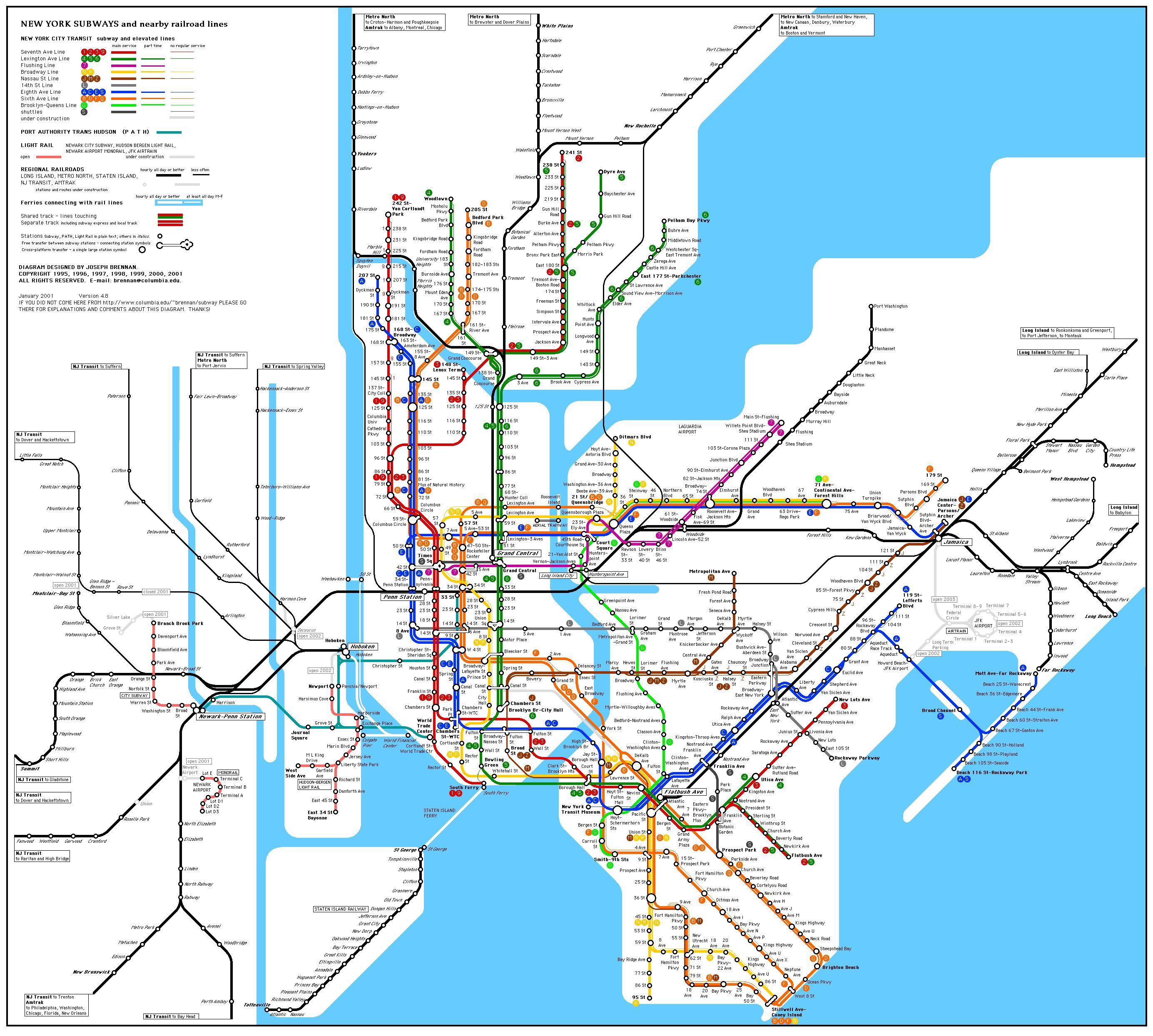 Metro New York: tutte le info sulla metro New York e sul meteo New York, per non perdersi nella Grande Mela