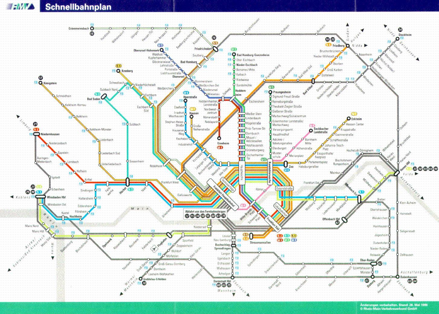 Metro Francoforte: tutte le info per spostarsi con agilità nella città tedesca