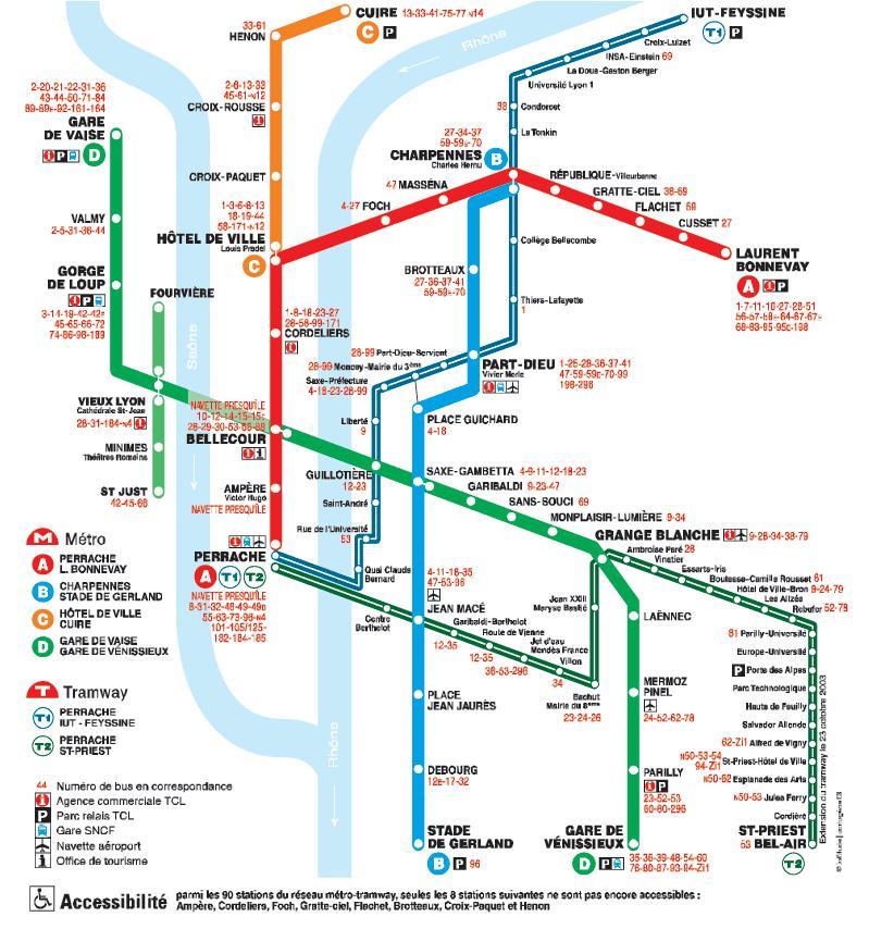 Metro Lione: tutte le info utili e la mappa della metro