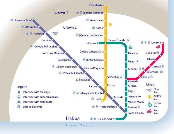 Metro Lisbona: la mappa e tutte le info utili sui trasporti a Lisbona