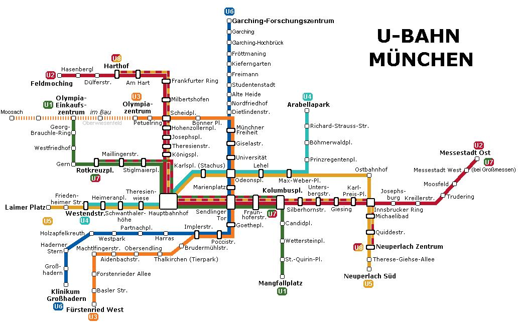 Metro Monaco: tutte le info utili e la mappa della metro