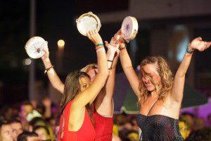 Foto di Donato Fasano - LaPresse 24 08 2013  Melpignano - Lecce ( Italia ) Cronaca - Spettacolo  La Notte della Taranta  Nella foto: momenti della festa