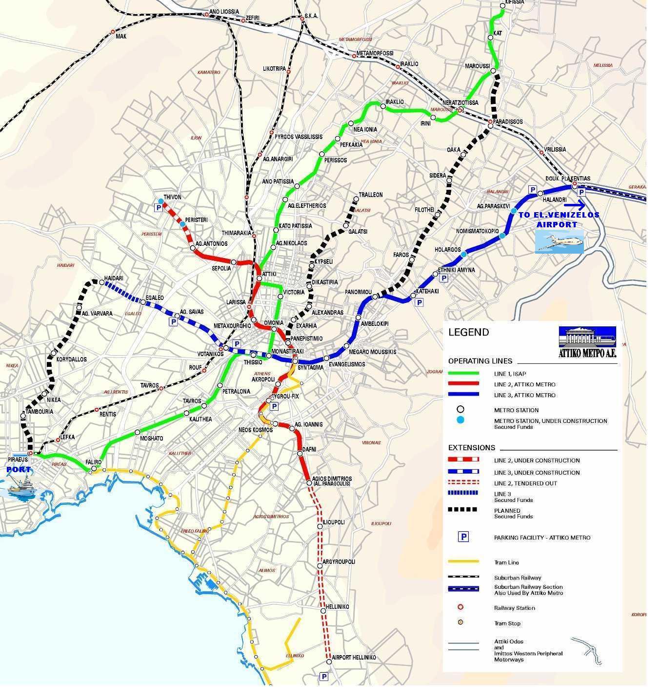 Metro Atene: tutte le info utili per muoversi ad Atene