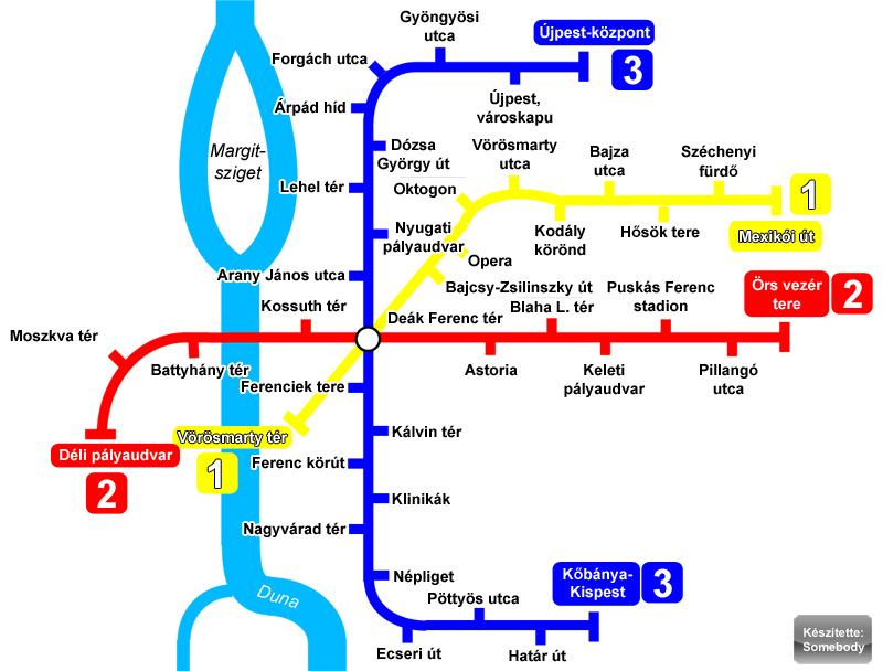 Metro Budapest: tutte le info utili e la mappa della metro