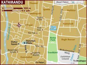 Kathmandu-mappa