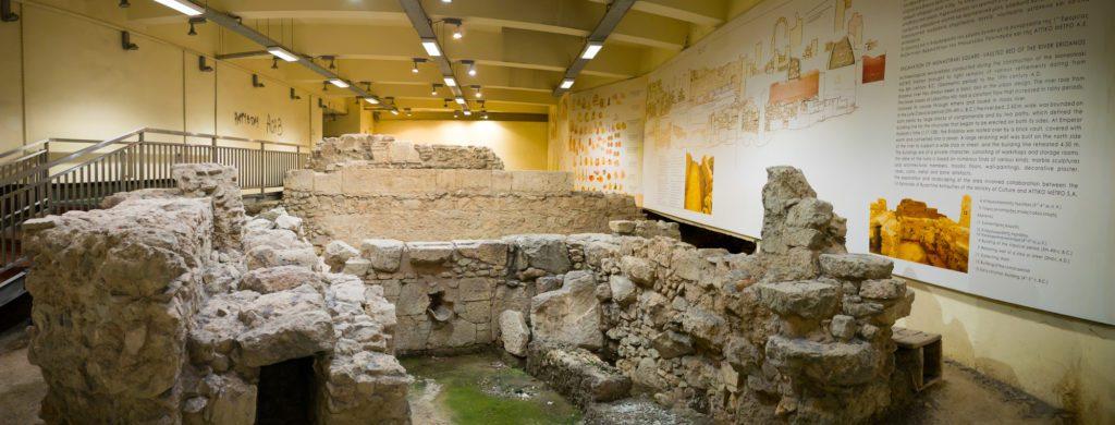 Sito archeologico stazione della metropolitana