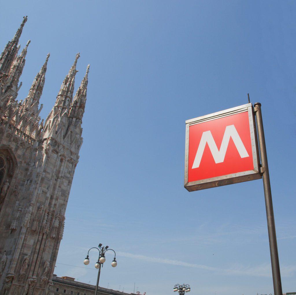 Simbolo della metro di Milano