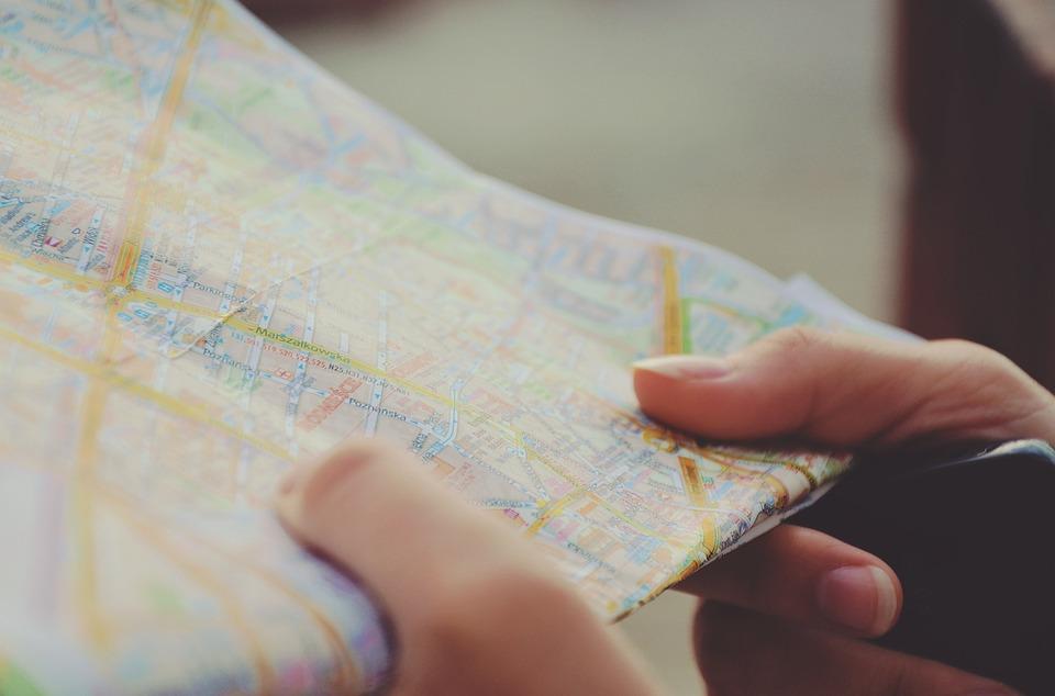 mappa del turista fai date