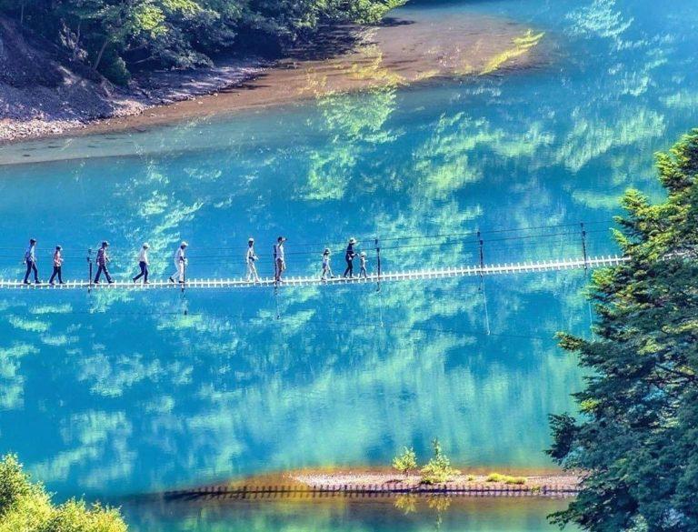 Sumatakyo: il paradiso nipponico tra ponti in corda e sorgenti cristalline